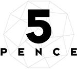 5 Pence Logo